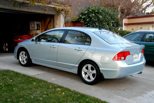 2006 honda civic tire size