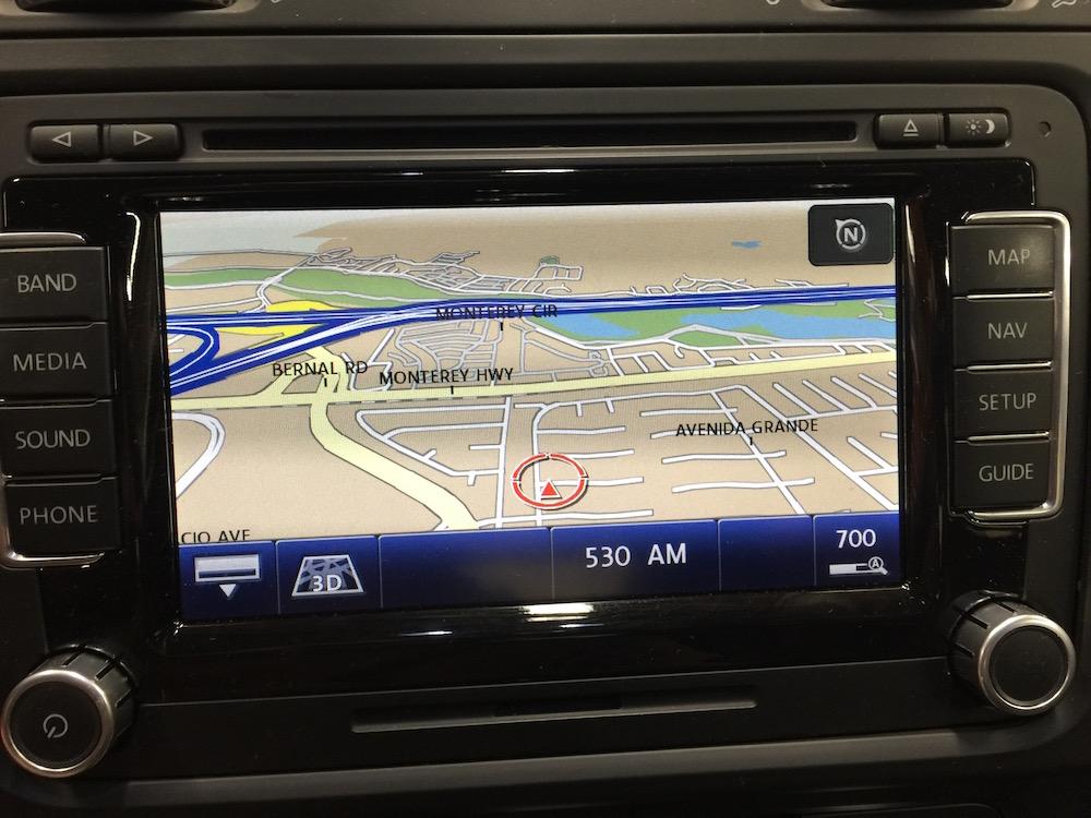VWVortex com - RNS-510 not displaying screens
